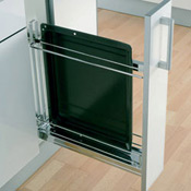kitchen base 150mm, tray pull-out