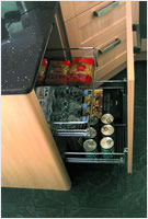kitchen Base Pull-Out Wire Drawers