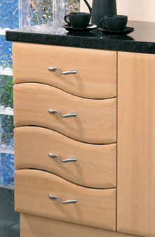 B Wave design 4-Ddrawers